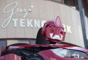 Türk şirket Letvision'ın ürettiği yerli Transformers otobot Letrons
