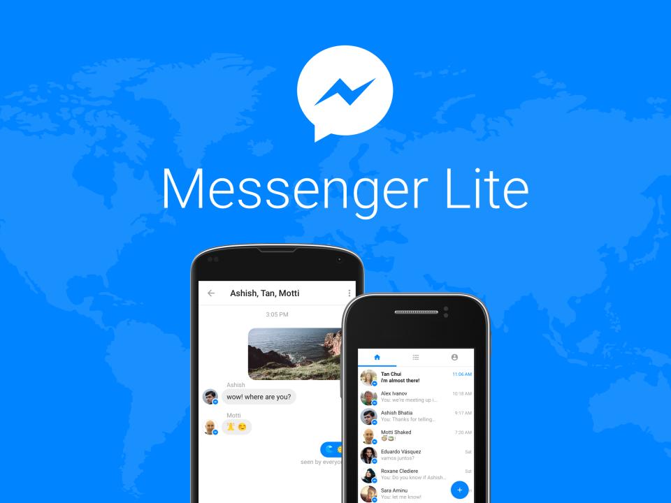 Blue Origin's Shepard ve Facebook Messenger Lite