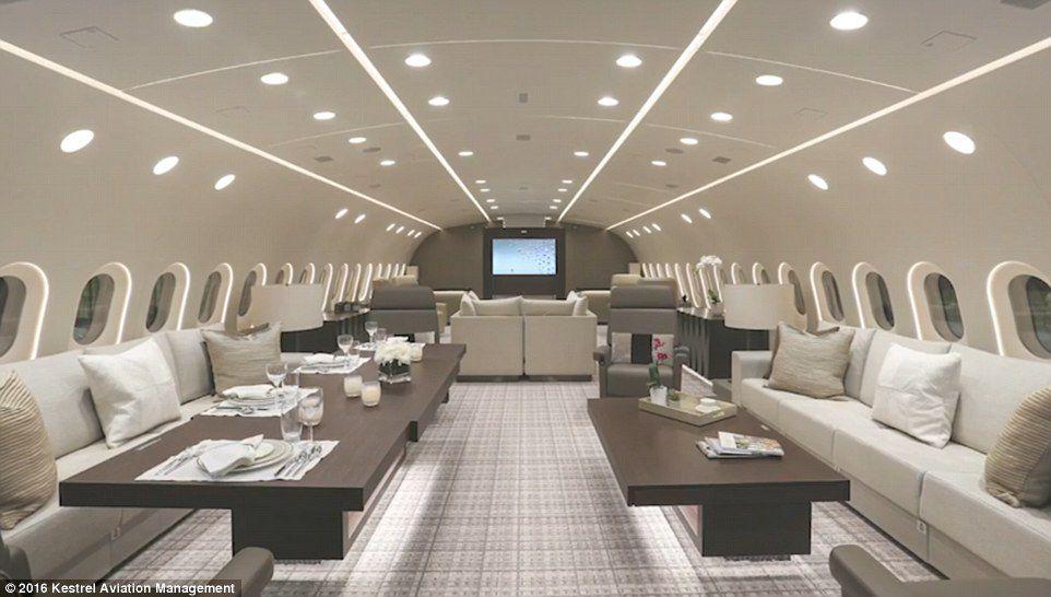 Beş Yıldızlı Otel Görünümlü Uçak-Rüya Jet