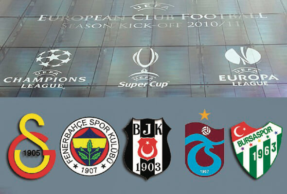 Uefa Takım Sıralaması 8 Ekim 2016