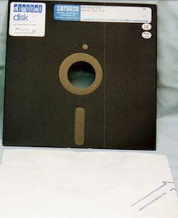 Traf-O-Data Yazılım Firması-Disket