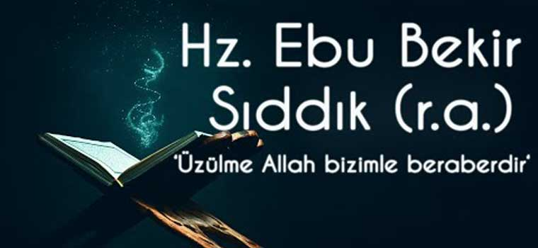 Haziran Ayında Yaşanmış Tarihi Olaylar-Hz. Ebu Bekir
