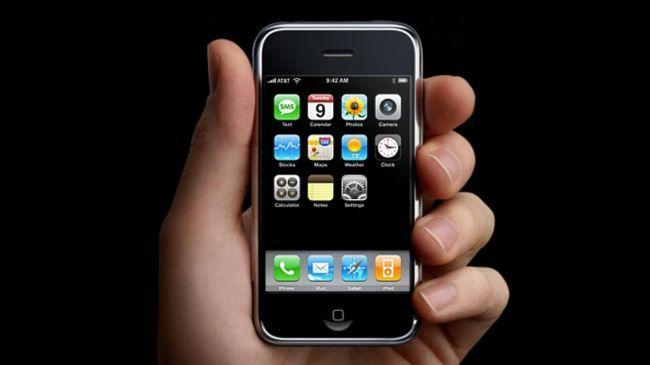 Apple İphone 2006-2007 Yılları Teknolojisi