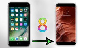 iphone8-degisim