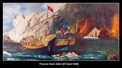 Eylül Aylarında Yaşanmış Tarihi Olaylar-Preveze