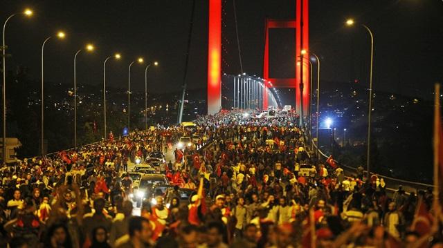 Taksim Meydanı 15 Temmuz Anma programı