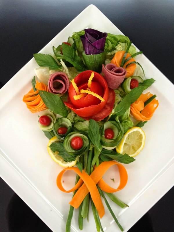 Çeşitli Salatalar