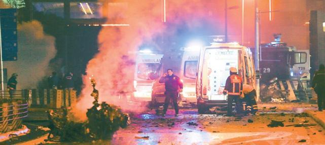 Şehitlerimizi Saygı ve Rahmetle Anıyoruz-İstanbul saldırı
