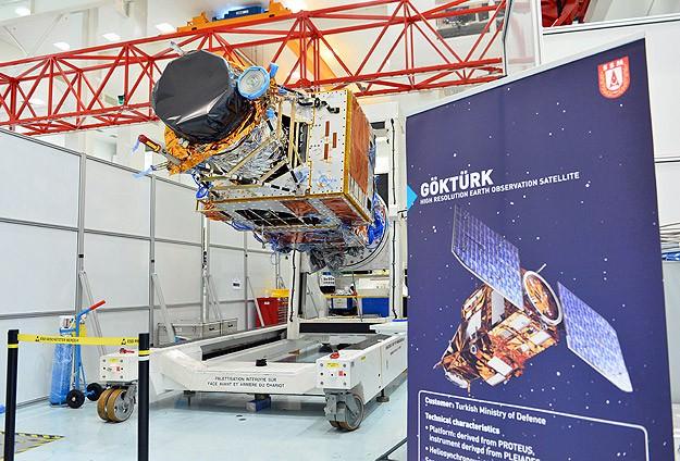 Göktürk-1 Keşif Gözetleme Uydusu Uzaya Fırlatıldı