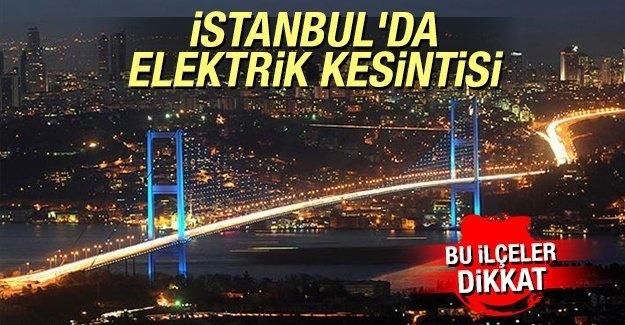 Elektrik Faturalarının Son Durumu-İstanbul