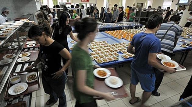 Üniversite yemek