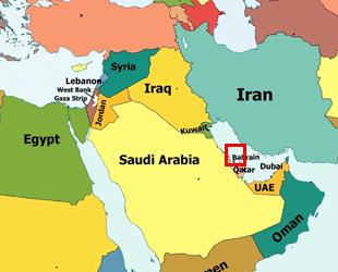 bahreyn-harita