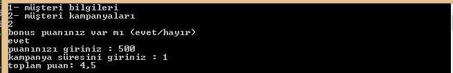 C Sharp Console Uygulamaları Do While Döngüsü