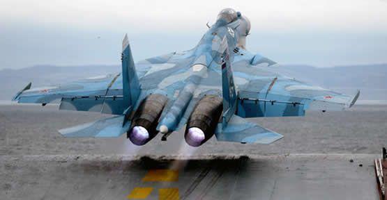 Rusya Jetlerinin Fırat Kalkanı Harekatında