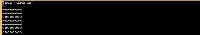 C# Console Uygulamaları For Döngüsü 3