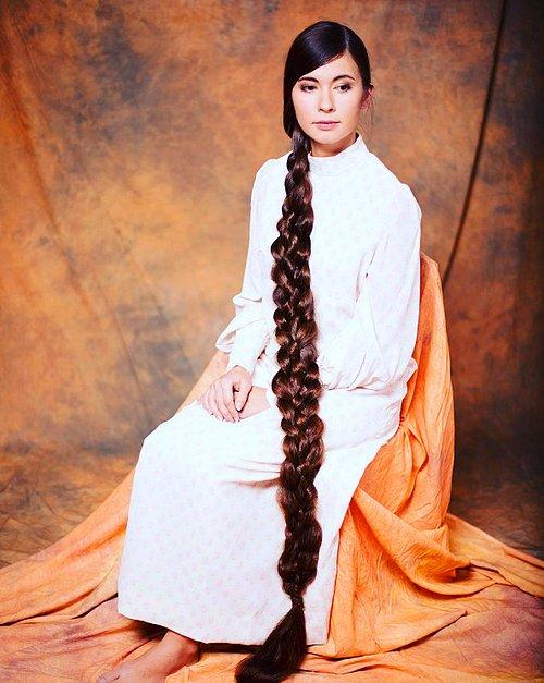 228 Cm'lik Saçların İhtişamı-Aliia