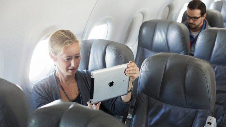 Uçakta Bilgisayar ve Tablet
