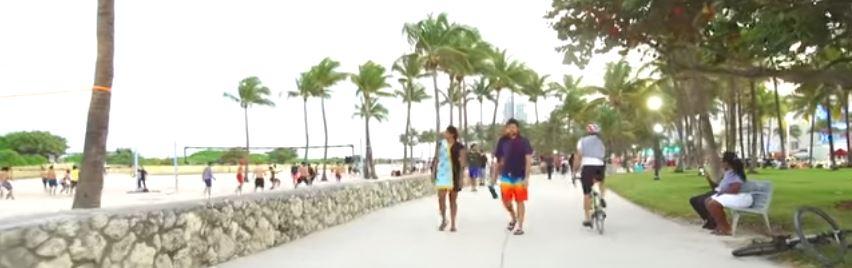 Amerika'nın Rüya Şehri Miami-Kumsal