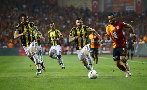 Derbinin Galibi Fenerbahçe-Galatasaray-Fenerbahçe