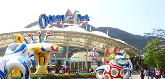 Hong Kong Turu-Ocean Park