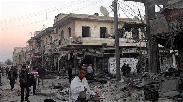 Suriye'de Kimyasal Saldırı-İdlib