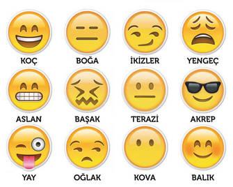 Burçların Enleri-Emoji