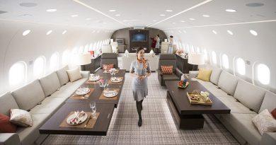 Dünyanın En Büyük Özel Jeti-Dreamliner