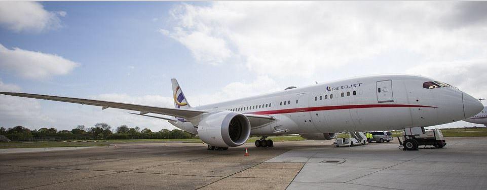 Dünyanın En Büyük Özel Jeti-Boeing 787