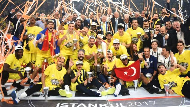 Fenerbahçe Baskette Avrupa Şampiyonu 2017