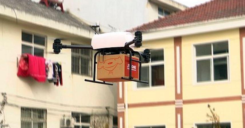 Mega Drone ile Taşımacılık