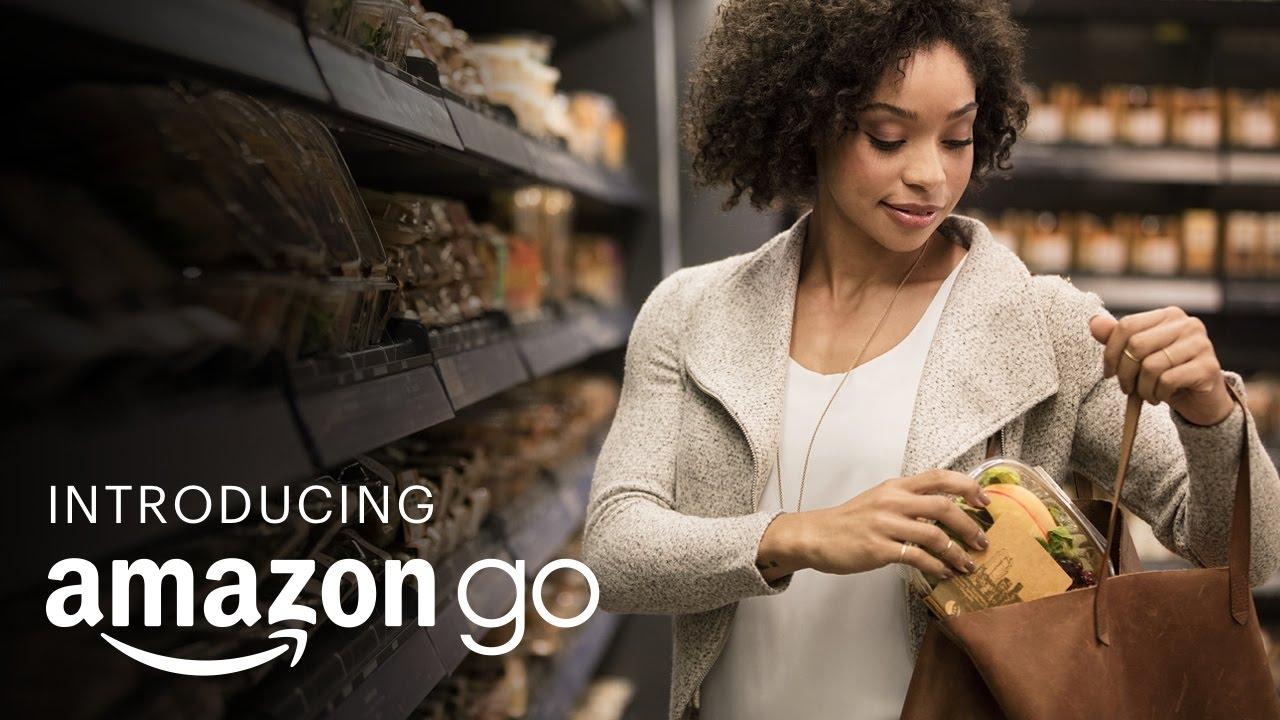 Amazon'un Yeni Ödeme Sistemi-AmazonGo