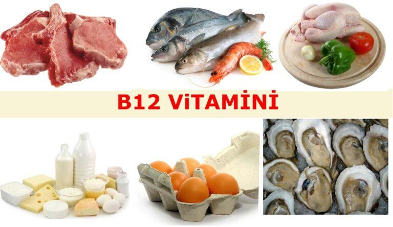 B12 Vitamininin Faydaları Neler