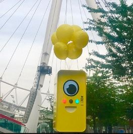 Snapchat Gözlükleri-Snapbots