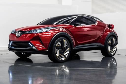2017 Toyota CHR Hibrit Model