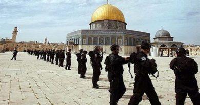 İsrail'in Mescid-i Aksa'ya Saldırıda Bulunması
