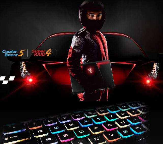 MSI GE63VR 7RF Raider Gaming Laptop