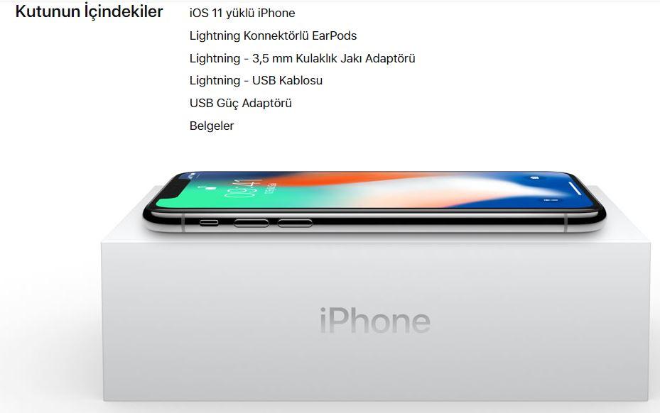 iPhone X Kutu