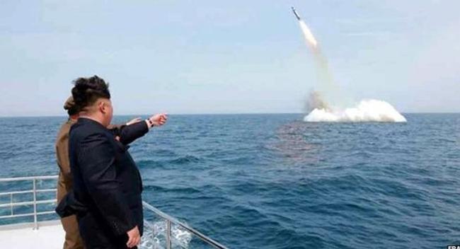 Kuzey Kore'nin Füze Atışları