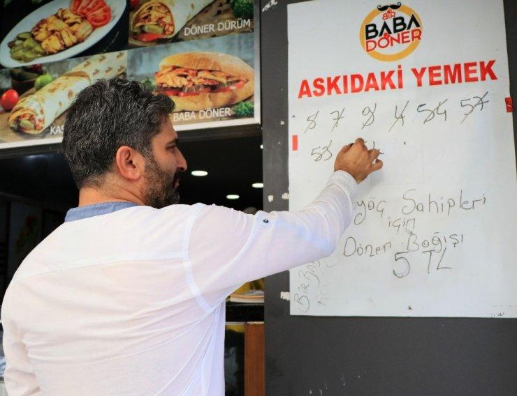 Askıda Döner Uygulaması Adana Esnafı