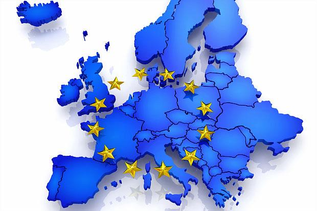 Avrupa Birliği'ne Üye Ülkeler Haritası