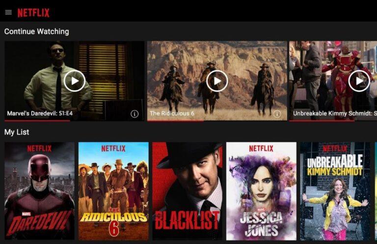 Facebook Tv-Netflix