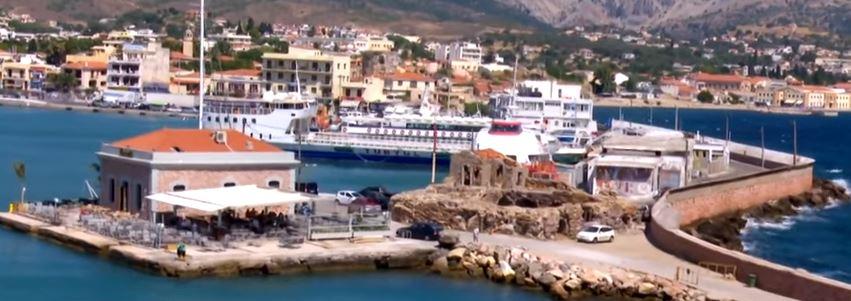 Sakız Adası Limanı