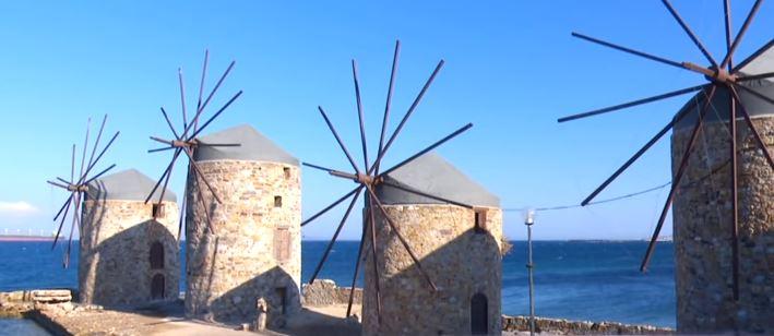 Yel değirmenleri Yunanistan
