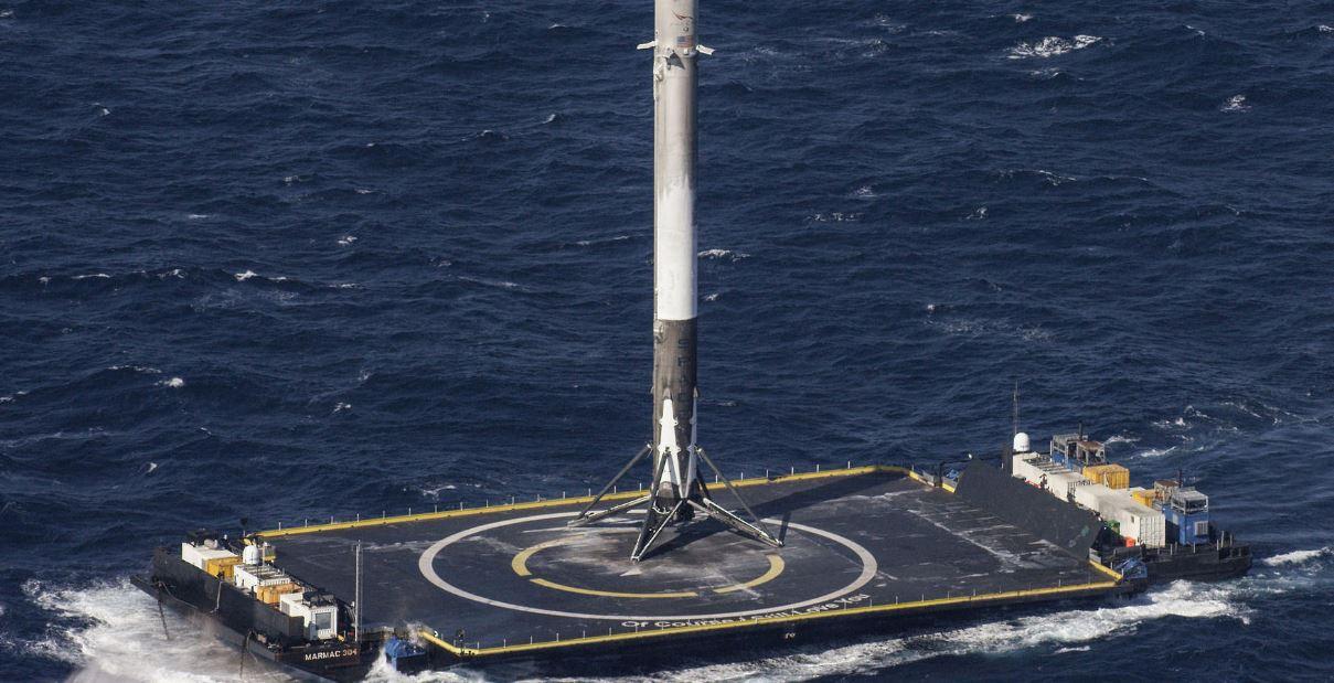 Uzay Yolculuğunda Spacex