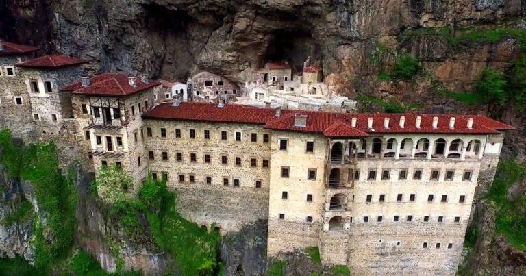 Sümela Manastırı Tadilatı