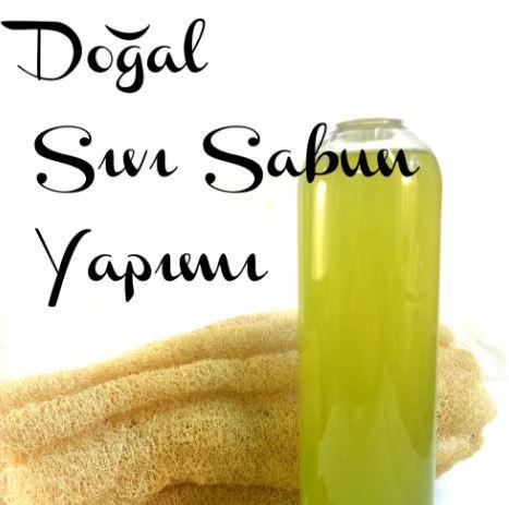 Doğal Sıvı Sabun