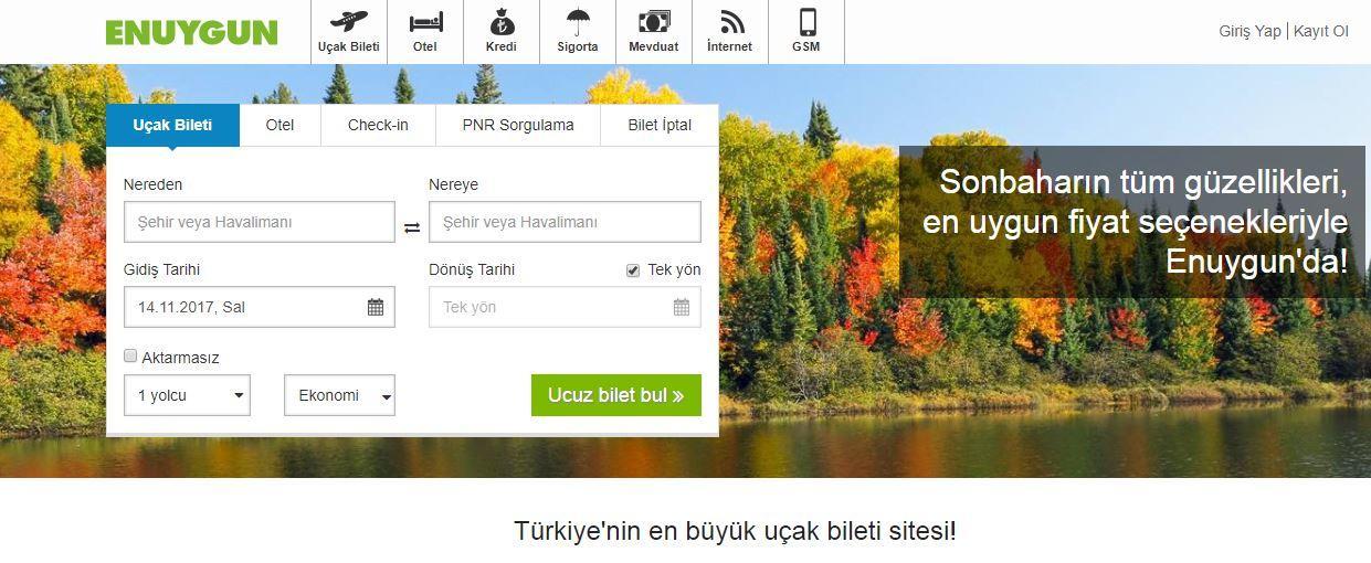 Enuygun.com Online Seyahat