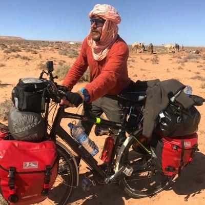 Hasan Söylemez'in Bisiklet ile Afrikayı Çölü Gezmesi