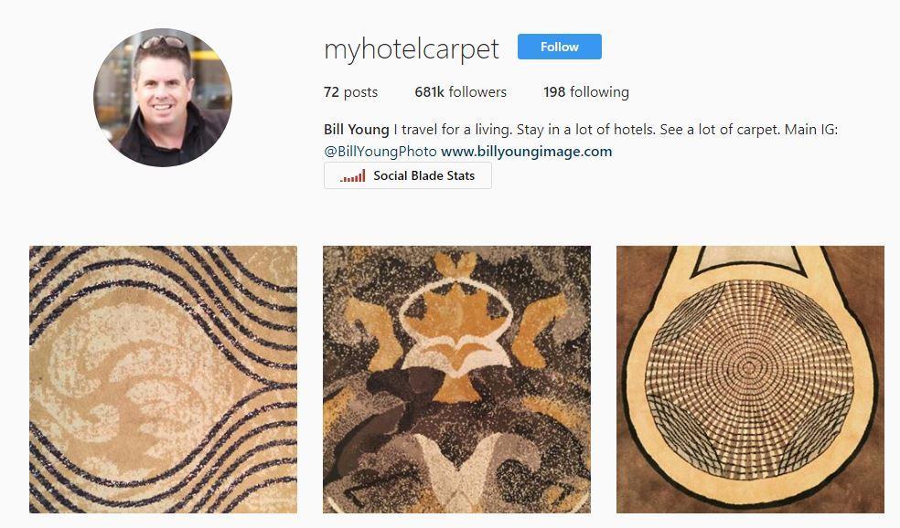 Otel Odalarının Halılarını Çekerek Instagram'da Paylaşan Pilot