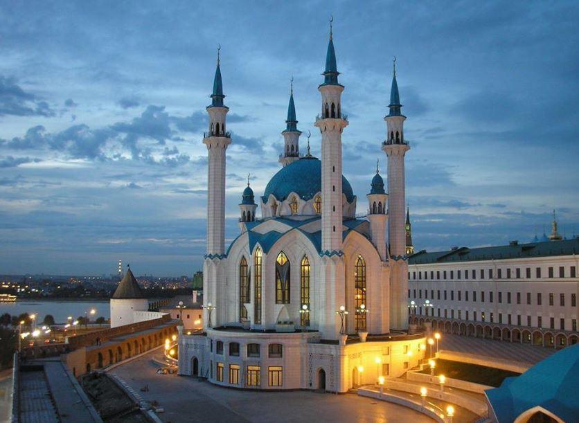 Kazan Şehri-Kul Şerif Camii